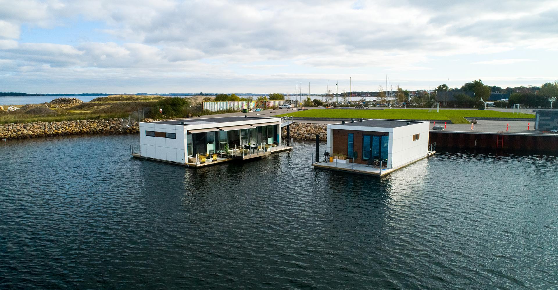Zunshine Living husbåde i Holbæk