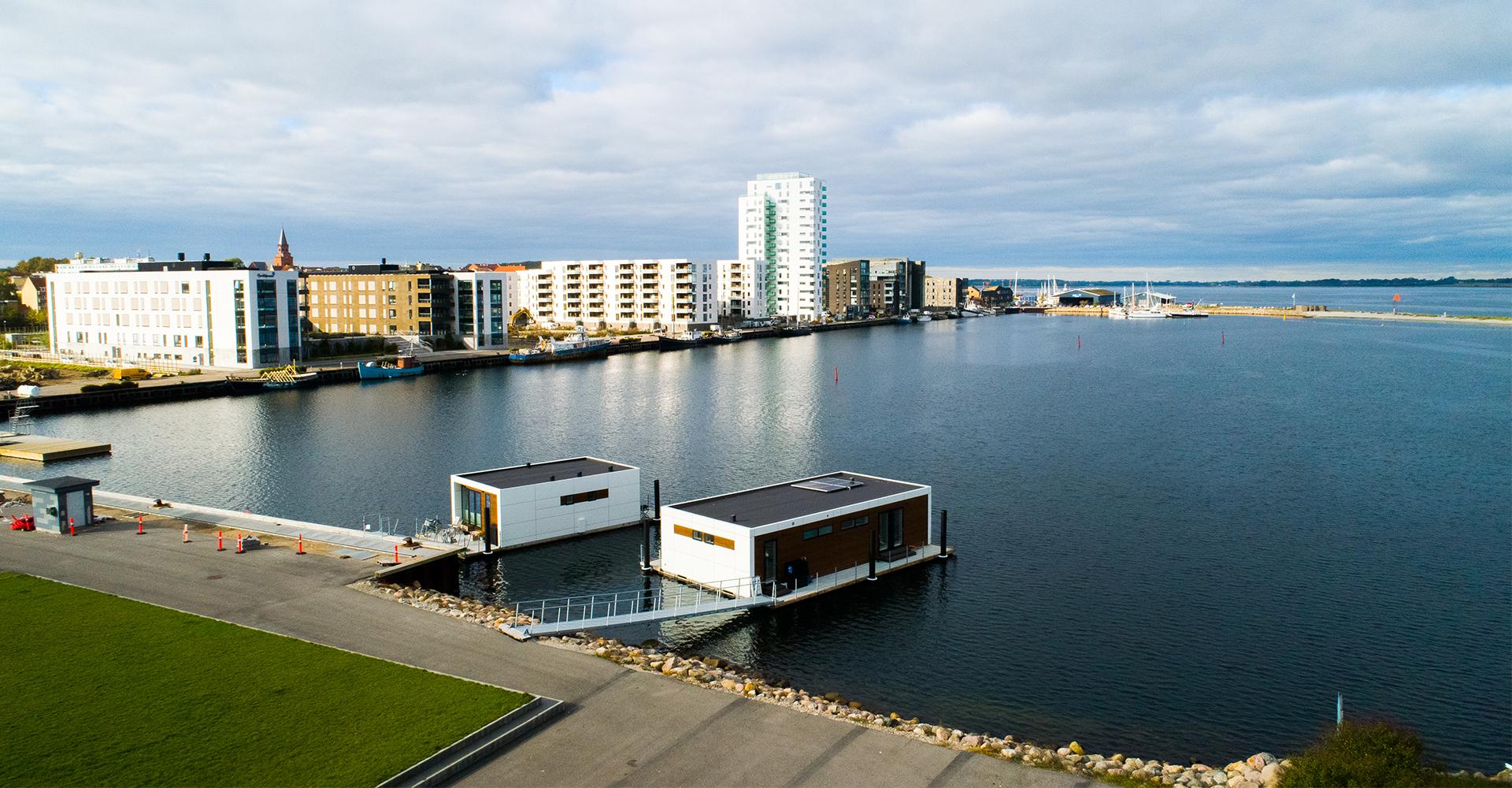 Zunshine Living husbåde til salg i Holbæk